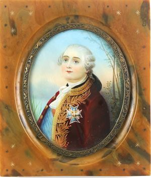 Miniature Portrait of Louis XVI